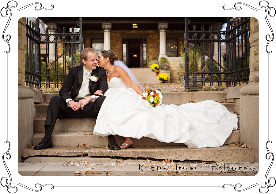 Wedding Portraits at Summit Manor St paul