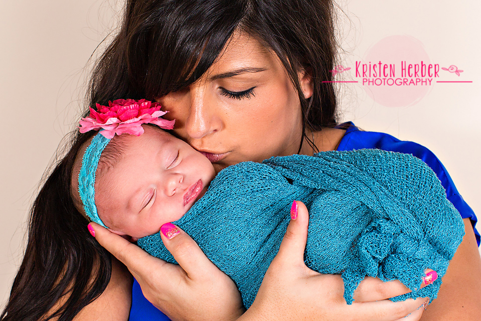Mom and newborn photos