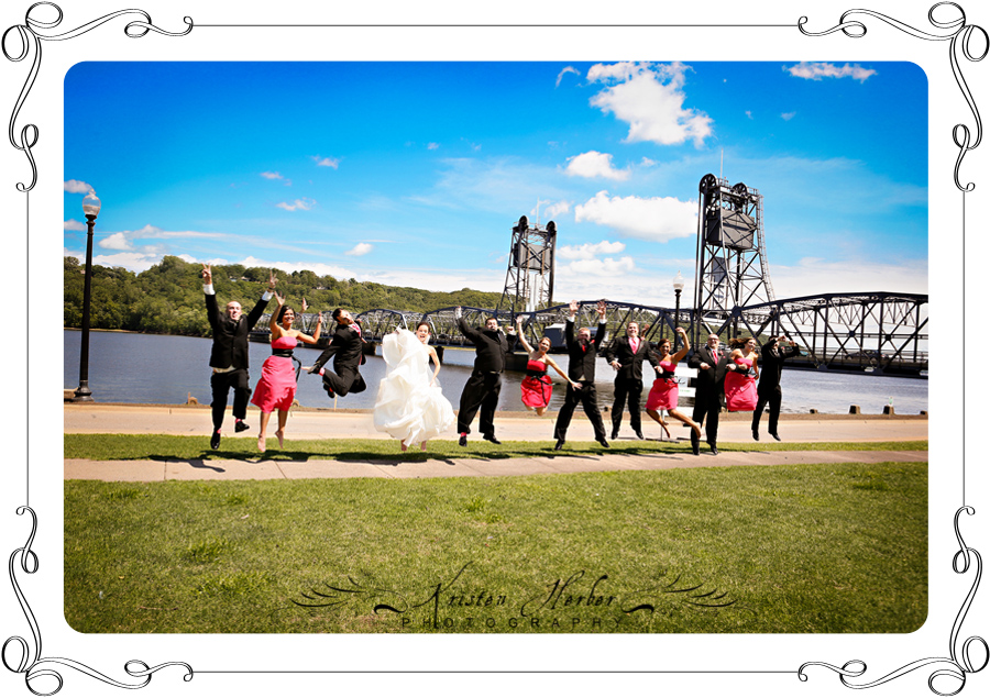 Wedding photography stillwater bridge
