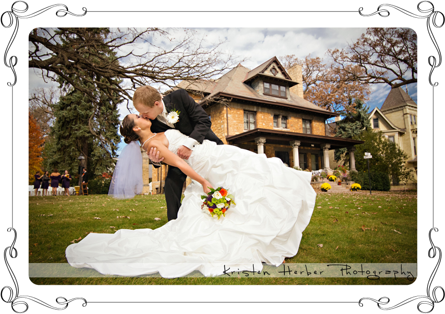 Award winning st paul wedding photographer at summit manor